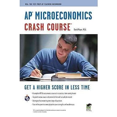 AP Microeconomics Crash Course Book + Online (Advanced Placement (AP) Crash Course) Paperback