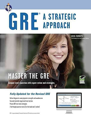 GRE: A Strategic Approach with Online Diagnostic Test Paperback