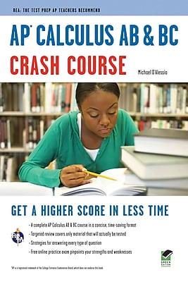 AP Calculus AB & BC Crash Course Book + Online (Advanced Placement (AP) Crash Course) Paperback