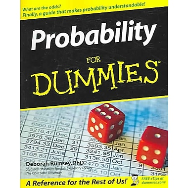 Probability For Dummies Deborah J. Rumsey Paperback
