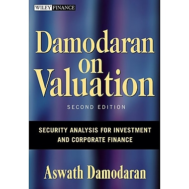 Damodaran on Valuation Aswath Damodaran Hardcover, Used Book