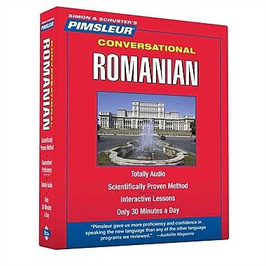 Romanian, Conversational Pimsleu Audiobook