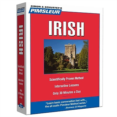 Irish, Compact: Learn to Speak and Understand Irish (Gaelic) with Pimsleur Language Programs CD