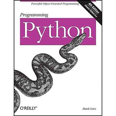 Programming Python Mark Lutz Paperback