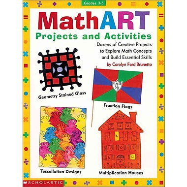 MathART Projects and Activities (Grades 3-5) Carolyn Ford Brunetto Paperback