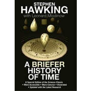 A Briefer History of Time  Stephen Hawking, Leonard Mlodinow Hardcover