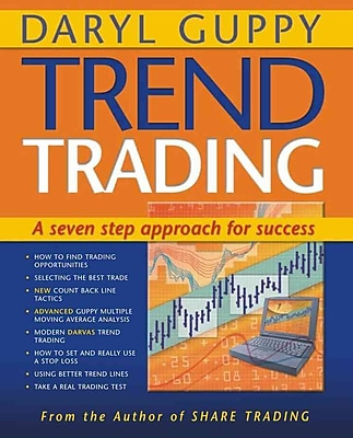 Trend Trading: A Seven-step Approach to Success (Guppy Trading) Daryl Guppy Paperback