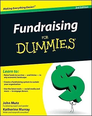 Fundraising For Dummies John Mutz, Katherine Murray Paperback