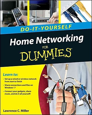Home Networking Do-It-Yourself For Dummies Lawrence C. Miller Paperback