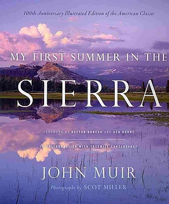 My First Summer in the Sierra: Illustrated Edition John Muir Hardcover