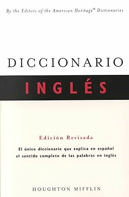 Diccionario Ingles Editors of the American Heritage Dictionaries Paperback