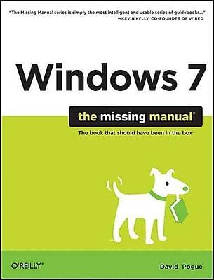Windows 7: The Missing Manual David Pogue Paperback