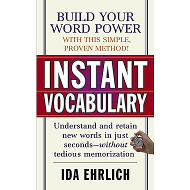 Instant Vocabulary Ida Ehrlich Paperback