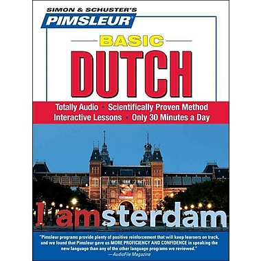 Dutch, Basic: Learn to Speak and Understand Dutch with Pimsleur Language Programs Pimsleur CD