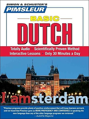 Dutch, Basic: Learn to Speak and Understand Dutch with Pimsleur Language Programs
