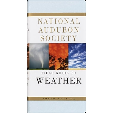 National Audubon Society Field Guide to North American Weather David Ludlum Vinyl Bound