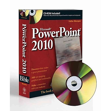 PowerPoint 2010 Bible Faithe Wempen Paperback