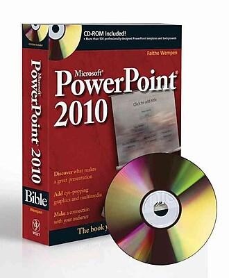 PowerPoint 2010 Bible Faithe Wempen Paperback