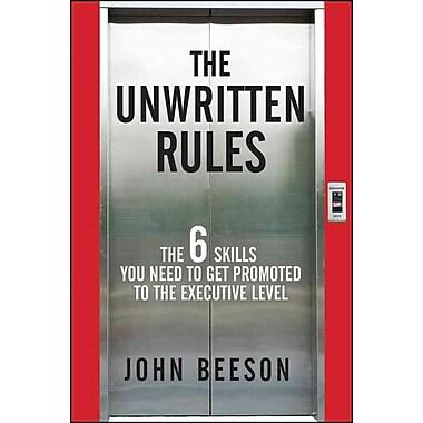 The Unwritten Rules John Beeson Hardcover