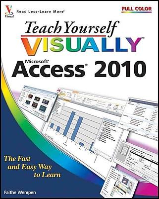 Teach Yourself Visually Access 2010 Faithe Wempen Paperback