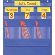 Counting Caddie and Place Value Pocket Chart Scholastic Teacher's Friend Office Product