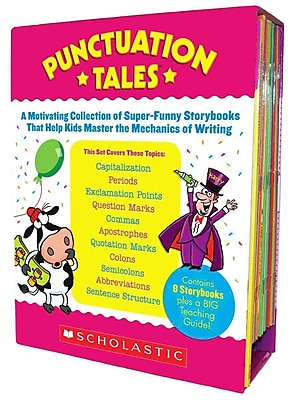 Punctuation Tales Liza Charlesworth Paperback