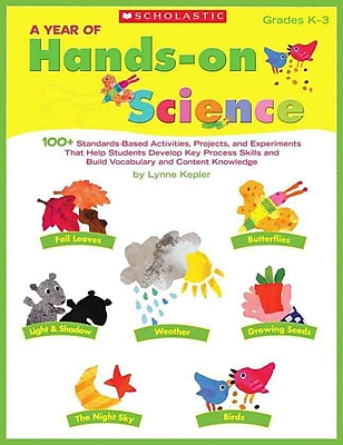 A Year of Hands-on Science Lynne Kepler Paperback