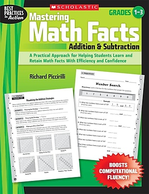 Mastering Math Facts: Addition & Subtraction Richard Piccirilli Paperback