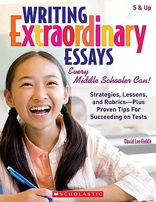 Writing Extraordinary Essays David Finkle Paperback