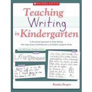 Teaching Writing in Kindergarten Randee Bergen Paperback