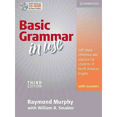 Basic Grammar in Use Student's Book with Answers and CD-ROM Raymond Murphy Paperback