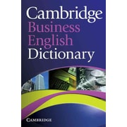 Cambridge Business English Dictionary Cambridge University Press Paperback