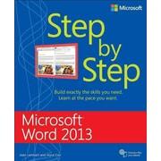 Microsoft Word 2013 Step by Step Joan Lambert, Joyce Cox Paperback