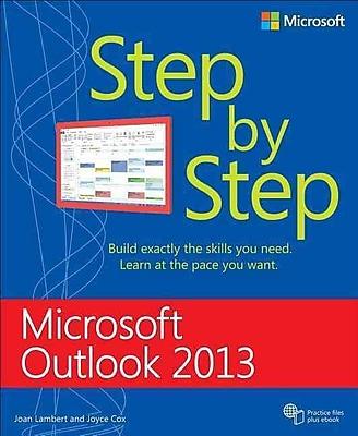 Microsoft Outlook 2013 Step by Step (Step By Step (Microsoft)) Joan Lambert, Joyce Cox Paperback