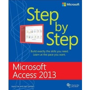 Microsoft Access 2013 Step By Step (Step By Step (Microsoft)) Joan Lambert, Joyce Cox Paperback