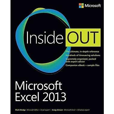 Microsoft Excel 2013 Inside Out Mark Dodge, Craig Stinson Paperback