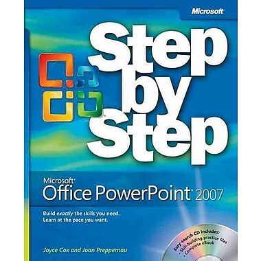 Microsoft® Office PowerPoint® 2007 Step by Step (Step by Step (Microsoft)