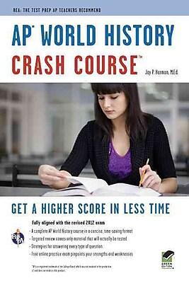 AP World History Crash Course Book + Online (Advanced Placement (AP) Crash Course) Paperback