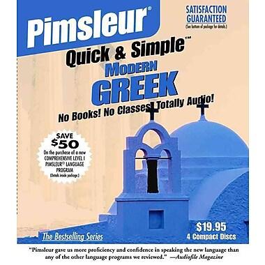 Greek (Modern), Q&S