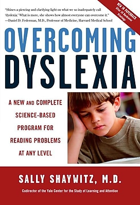 Overcoming Dyslexia Sally Shaywitz M.D. Paperback