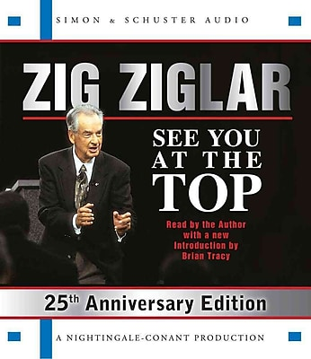 See You At The Top: 25th Anniversary Edition Zig Ziglar Audiobook CD