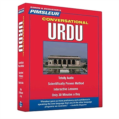 Urdu, Conversational: Learn to Speak and Understand Urdu with Pimsleur Language Programs CD