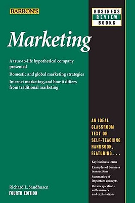 Marketing (Barron's Business Review) Richard L. Sandhusen Paperback