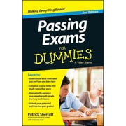 Passing Exams For Dummies (For Dummies (Career/Education)) Patrick Sherratt Paperback