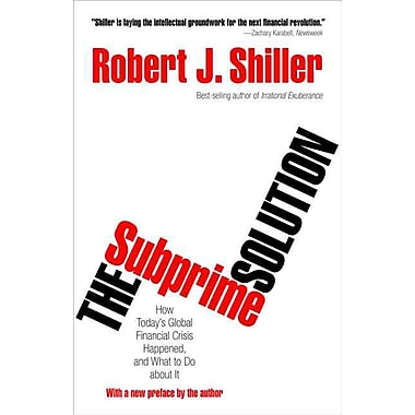 The Subprime Solution Robert J. Shiller Paperback