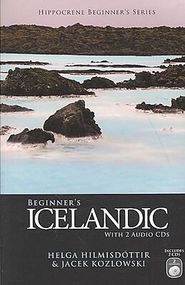 Beginner's Icelandic (Hippocrene Beginner's) Helga Hilmisdottir, Jacek Kozlowski Paperback