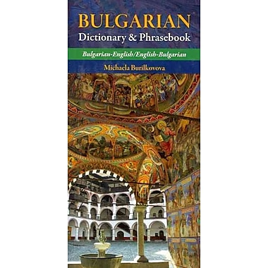 Bulgarian Dictionary & Phrasebook: Bulgarian-English / English-Bulgarian Paperback