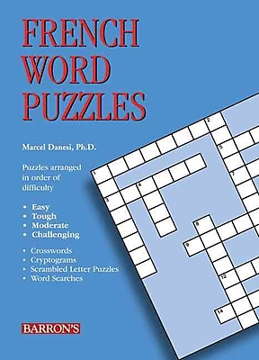 French Word Puzzles Marcel Danesi Ph.D Paperback