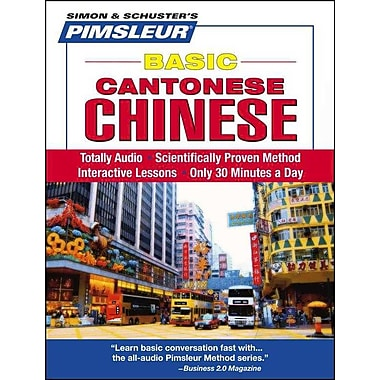 Chinese (Cantonese), Basic Pimsleur Audiobook CD