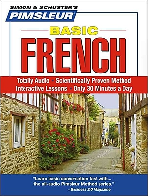French, Basic: Learn to Speak and Understand French with Pimsleur Language Programs